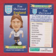 England Tim Sherwood Blackburn Rovers E31